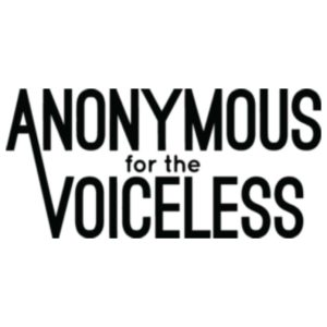 Anonymous For The Voiceless Logo